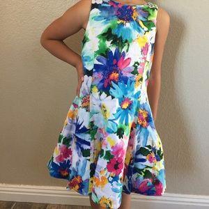 Girls 4T Ralph Lauren Floral Dress